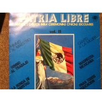 Disco Acetato De: Mexico Libre Himnos Y Cantos Para Ceremoni