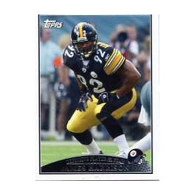 2009 Topps #322 James Harrison D-poy Acereros De Pittsburgh