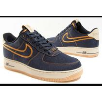 Tenis Nike Air Force One En Jean