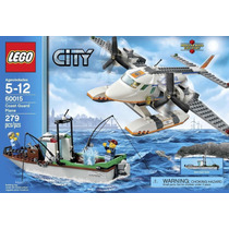 Lego City 60015 Guardacostas: Avión 279 Pzs
