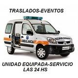 Ambulancias Traslados Eventos Deportivos 24hs