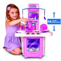 Brinquedo De Criança Nova Big Cozinha 3 Anos + Kit Batedeira