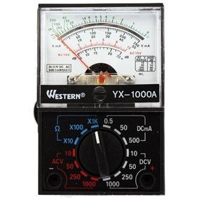 Multimetro Analógico Portátil Medição Ac/dc Western 758