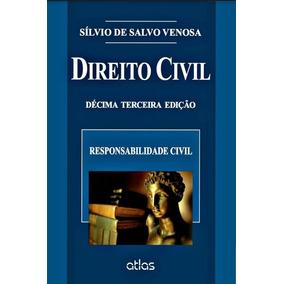 E-book Responsabilidade Civil Silvio De Salvo Venosa Direito