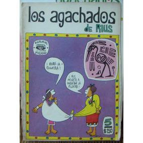 Historieta.los Agachados De Rius, Edit. Posada. # 5,1968