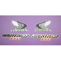 Kit De Calcomanias Para Moto Honda Nighthawk 650 Año 85-86
