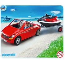 Playmobil 5133 Auto Y Remolque Moto Acuatica Envio Gratis