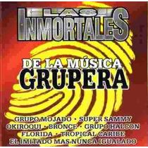 Las Inmortales De La Musica Grupera.cd De Coleccion Ed Unica