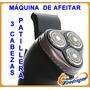 Promo Maquina Afeitar Recargable 3cabez Patillera +repuestos