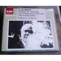 Pablo Casals J.s. Bach The 6 Cello Suites Cd Doble Importado
