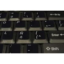 6 Stickers Etiqueta Teclas Pc O Laptop De Ingles A Español