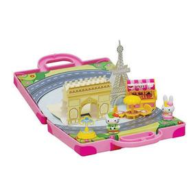 Hello Kitty Set Miniatura De Paris