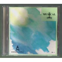 Regalo Musical 1992 Cd1 Condumex Unica Ed 2002 C/booklet Hwo