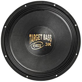 Falante Subwoofer Eros 15 Pol Target Bass 3.0k - 1500w 4 Ohm