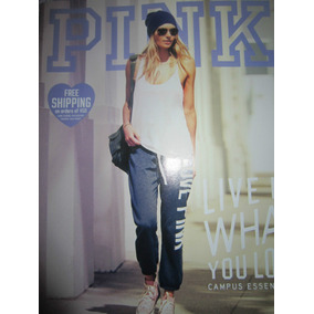 Victorias Secret Pink Catalogo 2012 Pants Blusas Bandeau