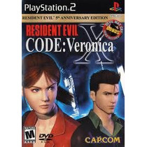 Resident Evil Code Veronica X Con Demo For Ps2 !!!