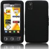 Funda D Silicon Para Lg Cookie Kp500 Kp570 Negra Hy1