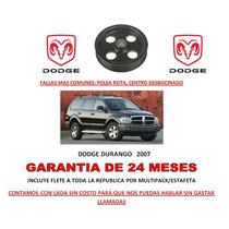 Polea P/bomba Licuadora Direccion Hidraulica Dodge Durango
