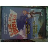 Dvd Historia De Gideon E De Moisés - Luz Da Biblia