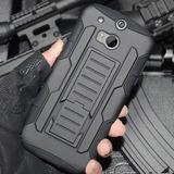 Funda Bumper Protector Htc One M10 M9 M8 M7 Clip Cinturon