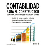 Contabilidad Para El Constructor - Thomsett / Trillas