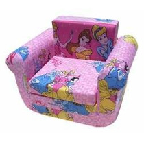 Sillon Cama Infantil Princesas Winnie Spider Dora Micky
