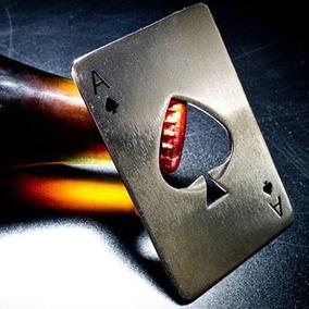 Destapador As De Poker Metal Rígido - Artico Store