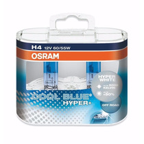 2x Lampadas H4 Osram Cool Blue Hyper Plus Xenon Look 5000k