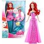 Boneca Princesas Disney Ariel - Sereia Ou Princesa Mattel