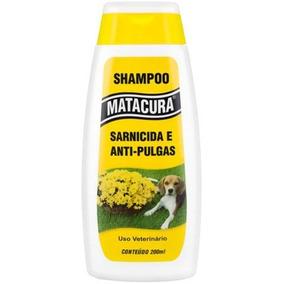 Shampoo Matacura 200ml (sarnicida E Antipulga)