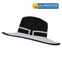 Sombrero Con Protección Solar Upf 50+ Panama Fashion