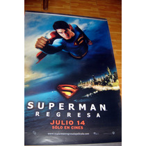 Superman Returns Cartel Original
