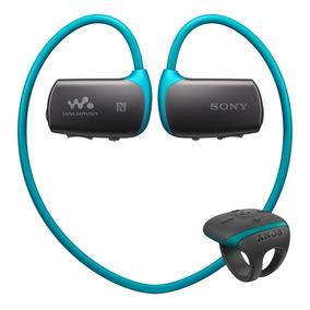 Walkman Resiste Agua Nfc Bltooth Nwz-ws615 Azul Sony Store