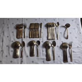 Antigo Faqueiro Capco Stainless Korea 61 Peças