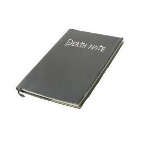 Libreta Death Note Tacto Piel, Pluma, Dije Y Reloj