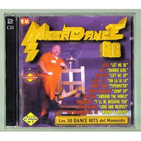 Megadance 98 Cd Doble Unica Ed 1999 En Exc Condiciones Bvf
