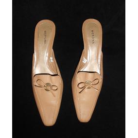 Merona! Preciosos Zapatos Color Camel, De Piel, Num 25.5 Mex