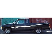 Calcomania Lateral Nissan King Cab Tipo Original