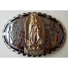 Hebilla Cinturon Virgen Guadalupe Charro Mariachi Mexico Flr