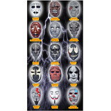 Mascaras Fibra De Vidrio Varios Personajes Sólo Mayoreo