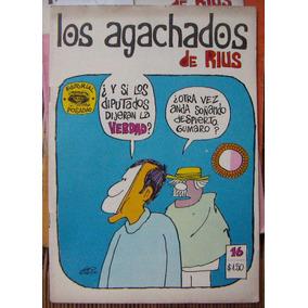 Historieta.los Agachados De Rius, Edit. Posada. # 16 ,1969