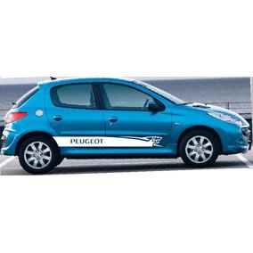 Franjas Sticker Vinil Peugeot 206, 207, 306, 307, 308