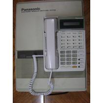 Solo Hoy-conmutador Panasonic 3 Lins 8 Exts Con Tel Prog