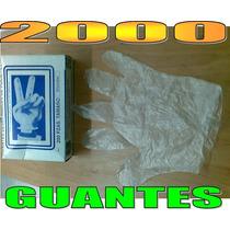 2,000 Guantes Desechables Polipapel P/ Repostería Chocolate