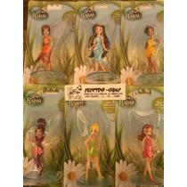 Princesas O Hadas De Disney Colección Con 6 Muñecas C/u. Lbf