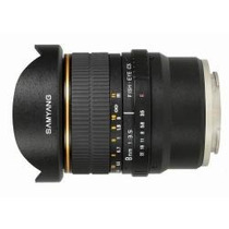 Lente 8mm F/3.5 Mc Fisheye P/ Sony E Mount Nex-5 Vg10 Hm4
