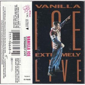 Vanilla Ice Extremely Live Kct + Cd Mc Hammer Rap Dj 90´s.