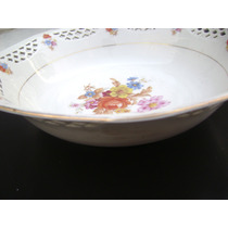 Hermoso Plato Dulcero Porcelana Fina De Bavaria