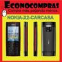 Carcasa Completa Para Nokia X2 Gris Y Negro 100% Nuevos