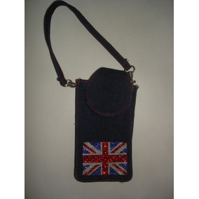 Bolso Funda Para Celular De Union Jack / Bandera Britanica